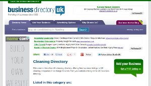 Business Directory - Cleaning